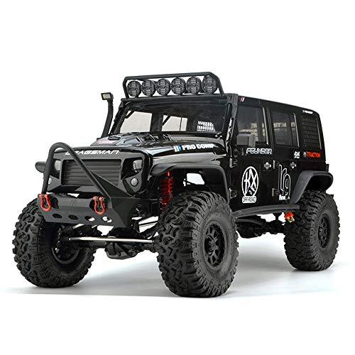 L&U RC off-road model Jeep Wrangler 1:8 remote control simulation climbing car differential lock high and low gear four-wheel drive off-road vehicle