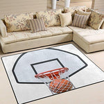 LUPINZ basketball sports NBA Area Rug Carpet Entry Way Doormat Door Mat Floor Mats Shoes Scraper Home Dec 63x48in/80x58in anti-slip washable wearproof