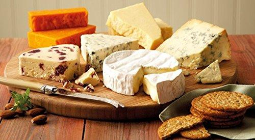 Luxury Cheese Board, Red Wine with Crackers and Nuts Selection Hamper