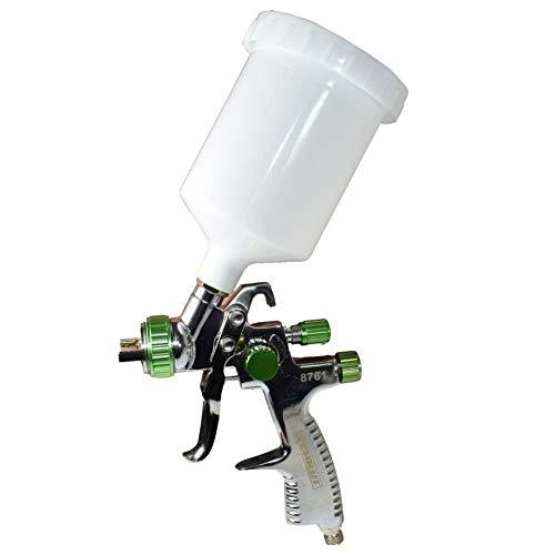 LVLP Gravity Feed Air Spray Paint Gun With 1.8mm Nozzle 600ml Cup Capacity