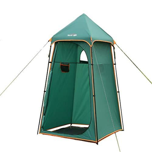 Lw outdoor Camping tent Camping Pop Up Tent, Portable Instant Shower Privacy Tent Changing Dressing Fishing Shelter with Storage Bag,130 * 130 * 220cm