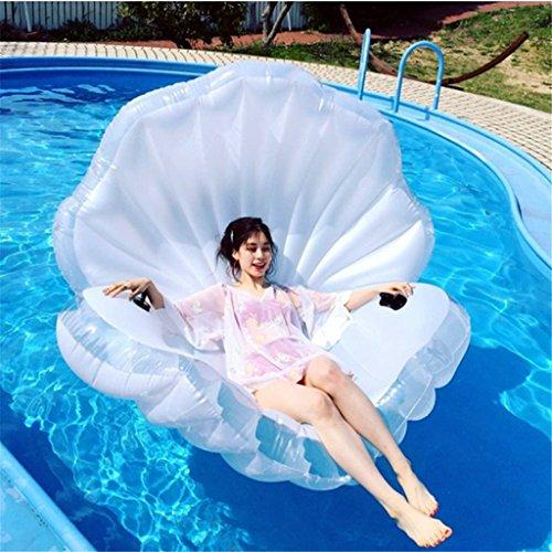 LY-bathe PVC inflatable pool float Swimming Pool Shells Pearl Giant Float Summer Water Sport Raft Toy Seashell Inflatable Pool Float Mattress Inflatable Rafts