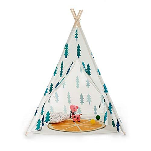 LZNK Children's Tent Christmas Tree Corner Apex Tent Cotton Indoor Tent Baby Play House Princess Tent