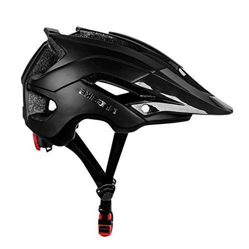 MagiDeal Adult Cycling Bike Helmet, Eco-Friendly Adjustable Men Women Mountain Bicycle Road Bike Helmet Safety Protection Anti-collision and Shock Absorption - Black, as described