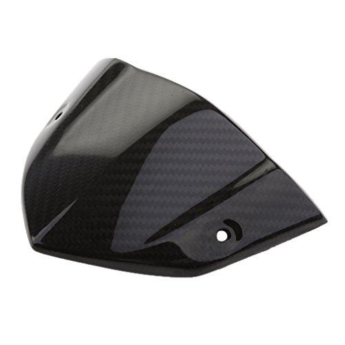 MagiDeal Motorcycle Carbon Fiber Instrument Cover for Kawasaki Z1000 2014-2015