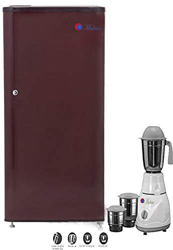 Makan Solid wine 190 L Direct Cool Single Door Fridge, Refrigerator Freezer with Use of Low Energy