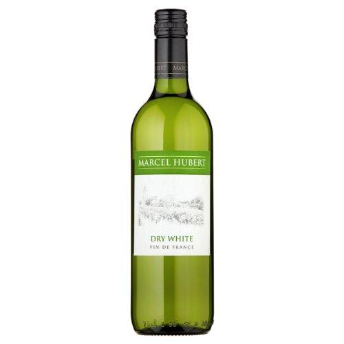 Marcel Hubert Dry White Wine 75cl (Pack of 6 x 75cl)