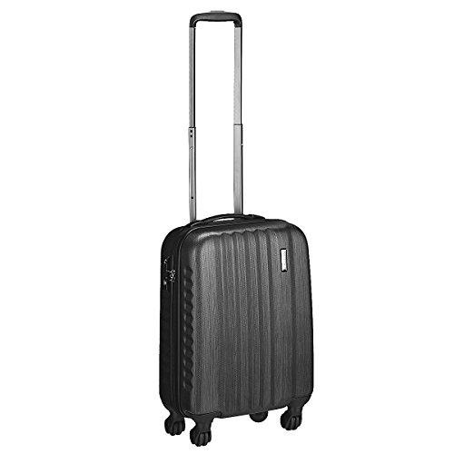 March 15 Trading Yearz Ribbon 4-Wheel Carry On Trolley 55 cm Black black