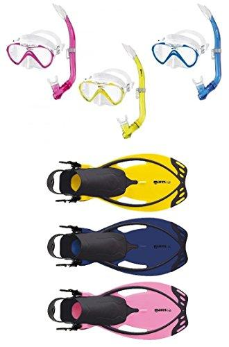Mares Seahorse and Allegra Children's Snorkelling Set, Pink