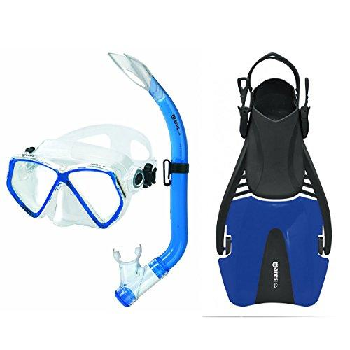 Mares Zephir Junior and Coral Children's Snorkelling Set diving set for children, blue