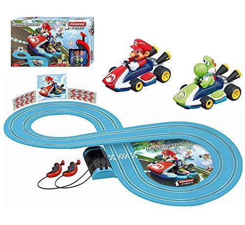 Mariokart 8 Carrera Racing System Racing Track Battery Operated Figure 8