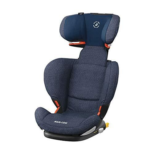 Maxi-Cosi RodiFix AirProtect Child Car Seat, ISOFIX Booster Seat, Extra Protection, 3.5-12 Years, 15-36 kg, Sparkling Blue