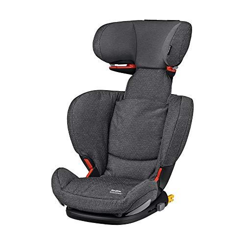Maxi Cosi RodiFix AirProtect Child Car Seat, ISOFIX Booster Seat, Extra Protection, 3.5-12 Years, 15-36 kg, Sparkling Grey