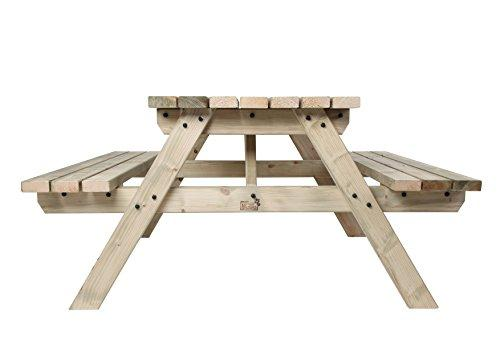 MC TIMBER PRODUCTS LTD FT PICNIC TABLE COMMERCIAL STYLE QUALITY - Commercial outdoor picnic table store