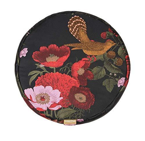 Meditation Cushion Secret Garden Round Cushion