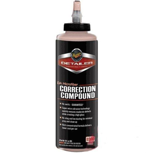 Meguiars DA Correction Compound 473ml **Use with G220 & Das 6 Dual Action Polishers**