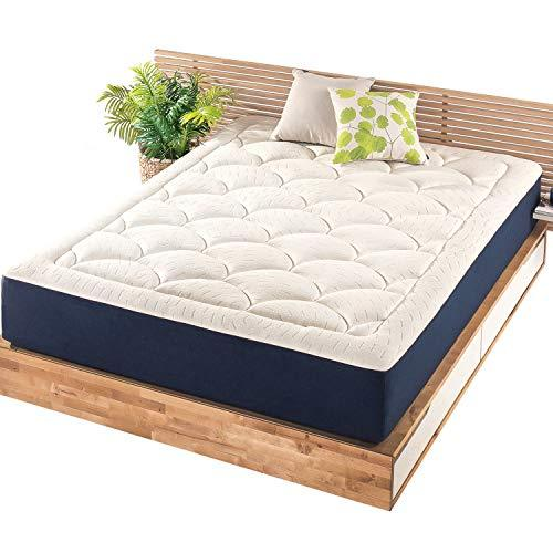 Mellow 12 Inch Marshmallow Twin Mattress, Bed in a Box, Pillow-Top, Plush, Cushion-TopCertiPUR-US Certified Non Toxic Foams, Oeko-TEX Certified Eco Cover, 10-Year Warranty…
