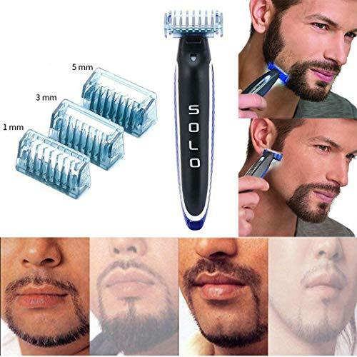 Men Electric Shaver Rechargeable Razor Cleaning Trimmer Personal Care Product