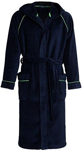 Men's Bathrobe with Hood RE-203. Warm and Soft