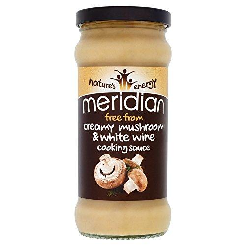 Meridian Free From Creamy Mushroom and White Wine Cooking Sauce, 350 g