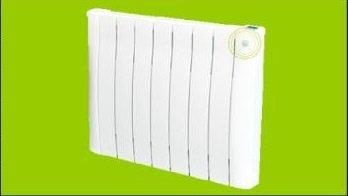 MH11 - MARC HEATING DESIGNER ELECTRIC RADIATOR WITH ECO-SENSOR 2000W 6824BTU 1192x580x80MM