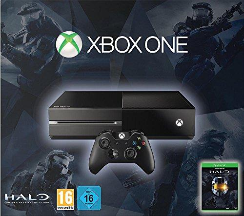 Microsoft Xbox One 500GB + Halo: The Master Chief Collection - game consoles (Xbox One, HDD, Black, DDR3, AMD Jaguar, AMD Radeon)