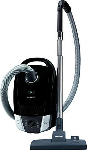 Miele 10931670 Compact C2 PowerLine Cylinder Vacuum Cleaner, Obsidian Black