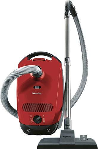 Miele Classic C1 SBAF3 Jubilee PowerLine Cylinder Vacuum Cleaner, Autumn Red 890W