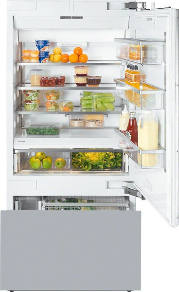 Miele KF 1901 VI Built-in White A + – Last Integrated Fridge Freezer, A +, White, SN-T, 4 *)