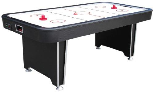 Mightymast Leisure 7ft TWISTER Professional Electric Air Hockey Table