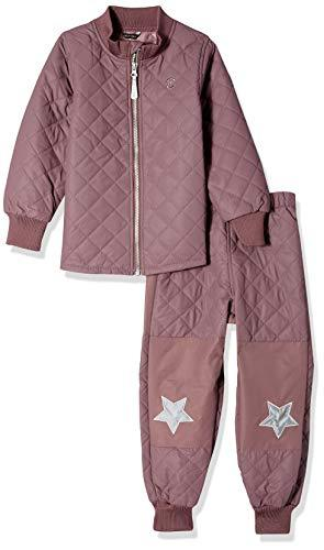 MIKK-Line - Melton Kids & Baby Infant, Toddler & Kids Quilted Top & Bottom Snow Set, Flint, 9-12m