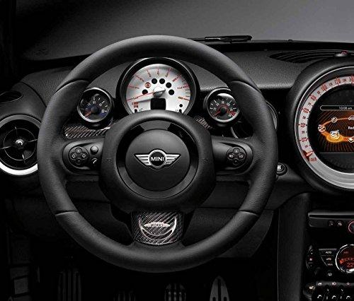 Mini Genuine JCW Sport Steering Wheel Trim Cover Carbon Middle 32302147228