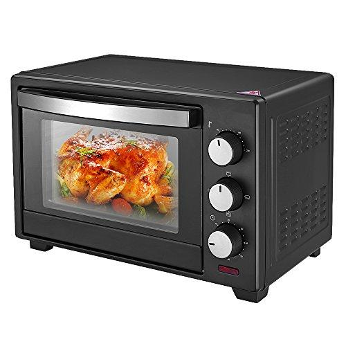 Mini Oven and Grill, 19 Litre, Black