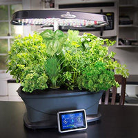 Miracle-Gro AeroGarden Bounty with Gourmet Herb Seed Pod Kit, Black
