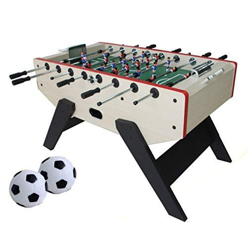 MJ-Games Tabletop Foosball Table Professional Table Football Soccer Game with Two Balls and Score Keeper for Adults and Kids