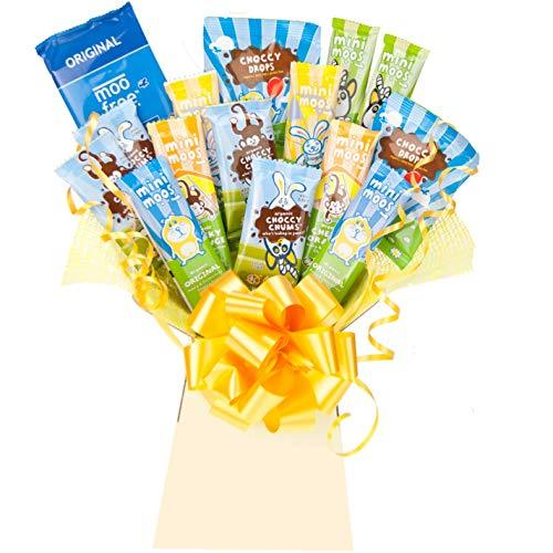 Moo Free Chocolate Bouquet Gift - Chocolate Lovers Luxury Gifts Hamper - The Best Variety The Perfect Gift idea by Chocoholic Bouquet
