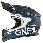 Motocross Helmet Oneal 2 Series RL Slingshot Motorbike Adult Motorcycle Mx Quad Dirt Bike ATV Enduro Off Road Helmet - BLACK - Small
