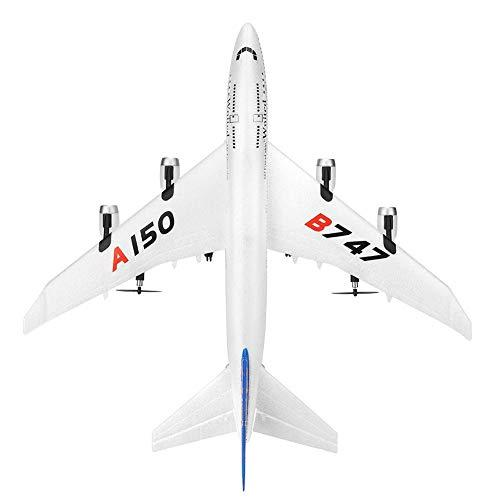 Motto.Hremote Control Aircraft Airplane Fixed Wing Plane Outdoor Toys Outdoor Plane Remote Control Airplane Remote Control Airplane For Adults Boeing B747 Fixed-wingEPP Remote Control Aircraft,white