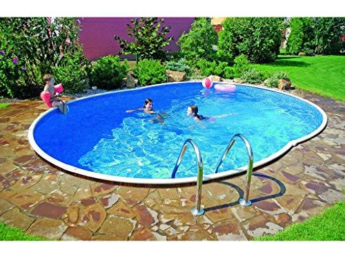 Mountfield Genuine AZURO Vario Wood WL2 550 x 370 x 120cm Oval Steel Swimming Pool Only without Liner