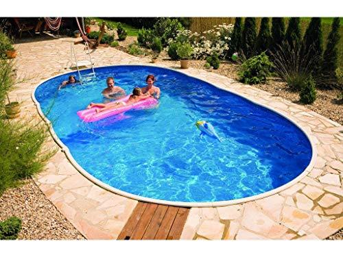 Mountfield Genuine AZURO Vario Wood WL3 730 x 370 x 120cm Oval Steel Swimming Pool Only without Liner