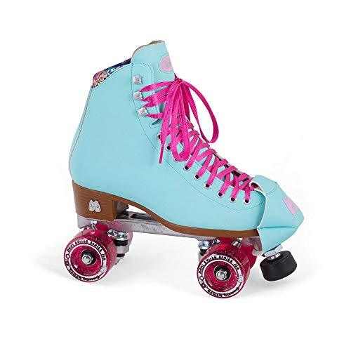 Moxi Quad Roller Skates - Beach Bunny - Blue Sky (UK 1 / US 2)