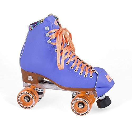 Moxi Quad Roller Skates - Beach Bunny - Periwinkle Sunset (UK 9/US 10)