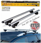 MP Essentials Lockable Aluminium Roof Rack Rail Bars to fit Dacia Sandero Stepway (2013>) + FREE MP AIR FRESHENER