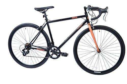 Muddyfox Women's Omnium 14 Speed Road Bike, Black/Rose Gold, 48 cm (19 Inch) Frame