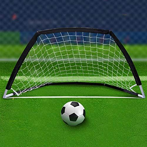 Muliti-function Soccer Goal, Portable Kids&Youth Soccer Rebounder Net for Indoor and Outdoor 2-4 Persons Practice Training Sports
