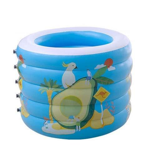 MUMUMI Inflatable Baby Bath Barrel Children's Bathtub Swimming Five-layer Swimming Pool Baby Marine Ball Children Inflatable Ball Pool Round Increase Height Increase Thickening