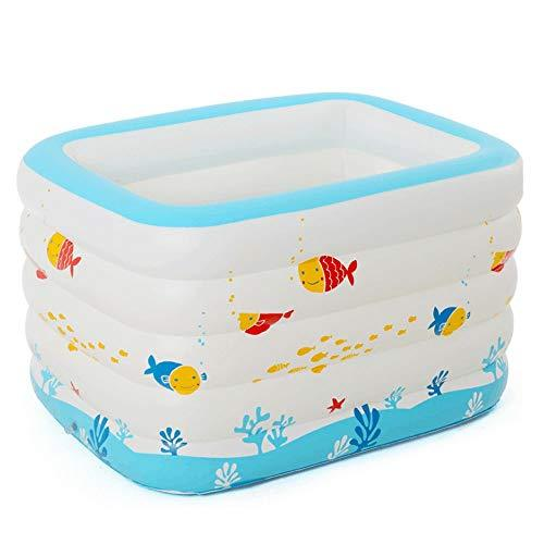 MUMUMI Inflatable Swimming Pool Pond Bathtub Inflatable Baby Swimming Pool Family Marine Ball Pool Inflatable Bathtub Competition Boy Girl Toddler/Birthday Party Activity Children