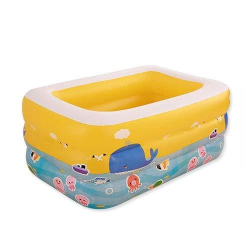 MUMUMI Inflatable Swimming Pool Three Floors Inflatable Bathtub Pond Inflatable Baby Swimming Pool Family Marine Ball Pool Competition Boy Girl Toddler/Birthday Party Activity Children