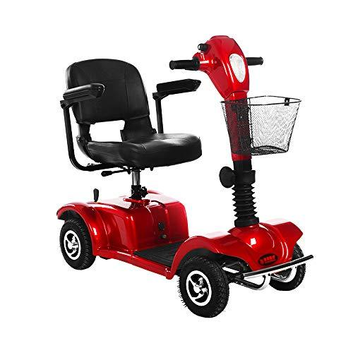 MX XM Wheelchair Electric Wheelchair Controller Elderly Disabled Scooter Light Automatic Brake - Red Armchairs