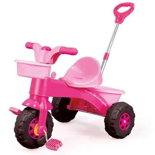 My First Ride Tricycle Toy For Boys & Girls Ride with Push Along Parent Handle (Age Group: 3+) (Pink)